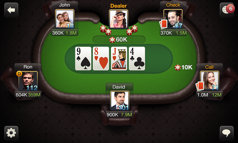 poker results