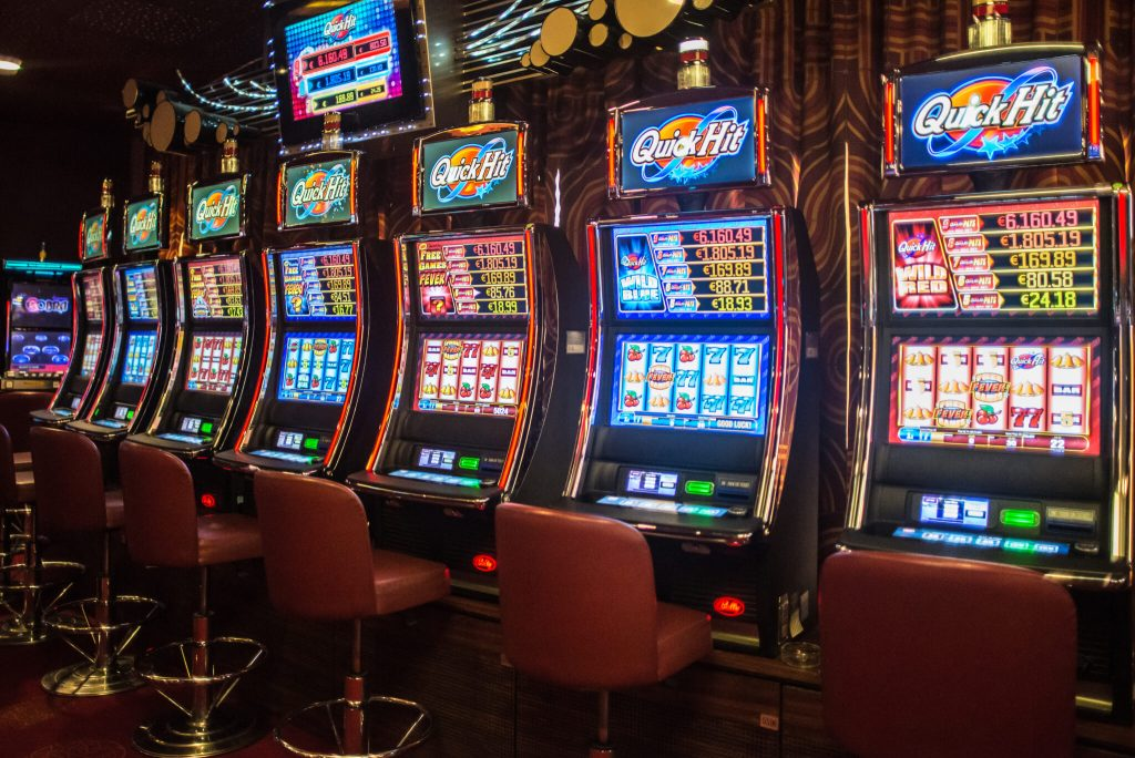 start playing your slot games.
